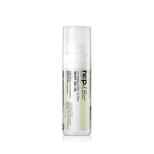 Serum, ampoule, and booster: RE:P Nutrinature Ultra Moist Gel Oil
