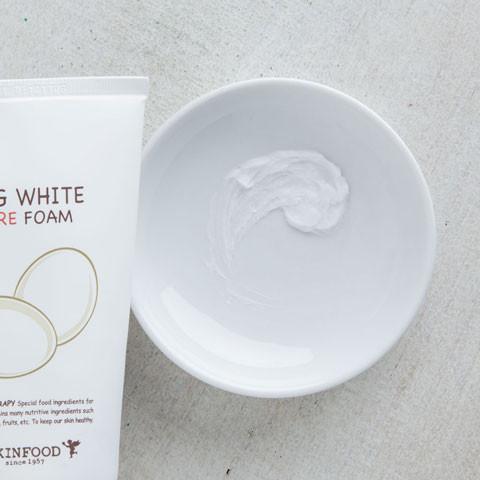 skinfood egg white pore foam remove water-based impurities