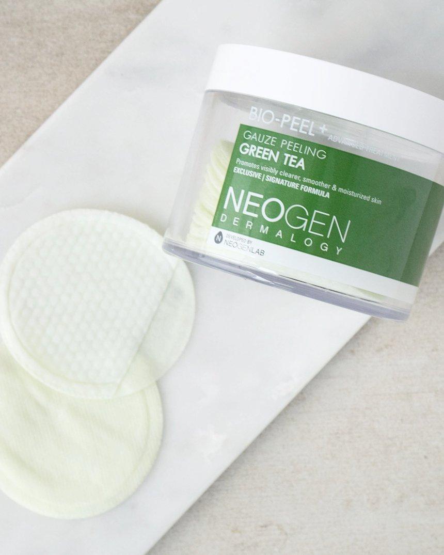 Green Tea Benefits on Skin Neogen Green Tea Bio Peel
