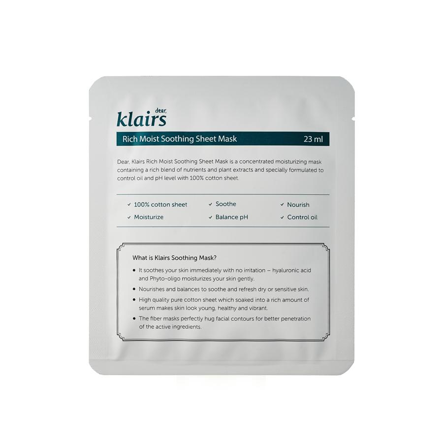 acne-tratment-sheet-mask-klairs