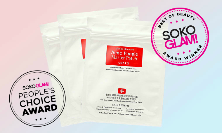 cosrx acne master pimple patch is the the winner of 2016 People's Choice Award