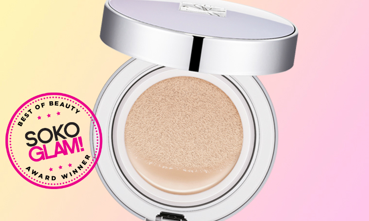 Missha Signature Essence Cushion won the 2016 best foundation award from Soko Glam
