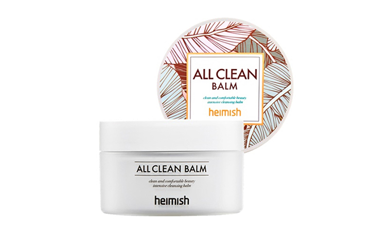 Heimish All Clean Balm easily removes eye make-up