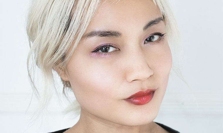 American version of Korean makeup gradient lip