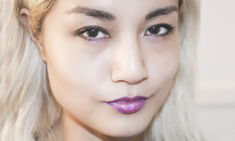 American and Korean makeup trends altogether in one look