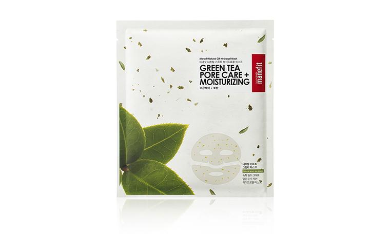 Black Friday and Cyber Monday K-Beauty Deals: Manefit Green Tea Pore Care Moisturizing Sheet Mask