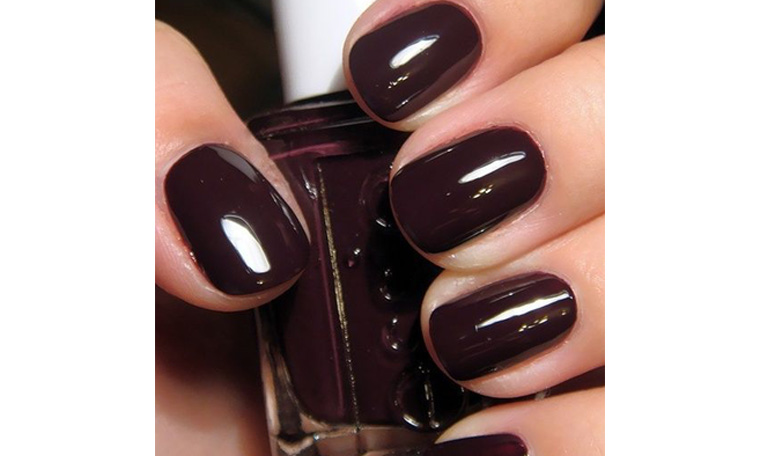 Dark, gothic nail polish