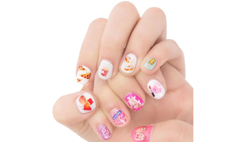 K-Beauty Gift Guide $30 and Under: #OOTD Nail Stickers