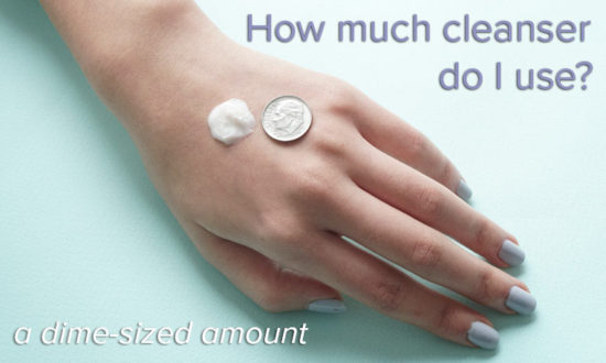 how much cleanser