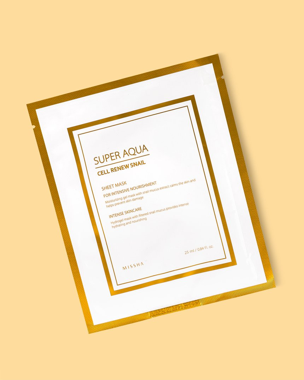 Missha Super Aqua Cell RenewSnail Sheet Mask