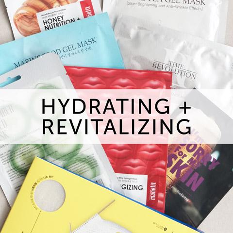 hydrating mask set