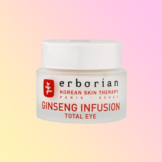 the erborian ginseng infusion total eye saves jet lagged eyes. Black Bedroom Furniture Sets. Home Design Ideas