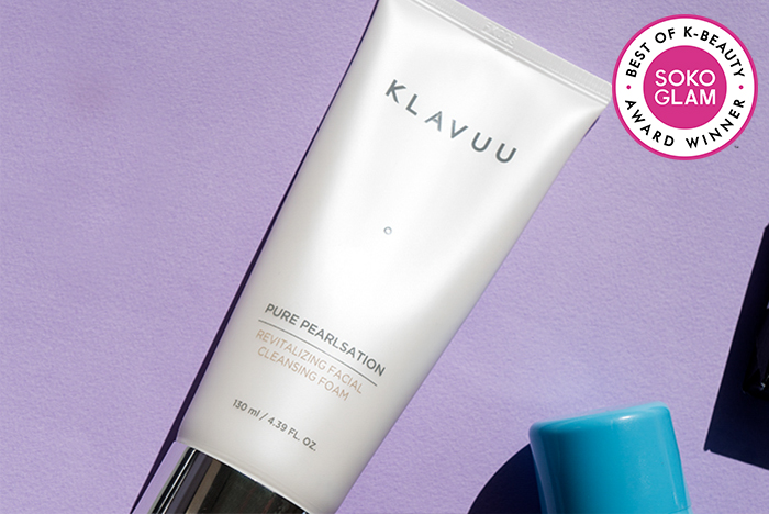 klavuu foaming cleanser