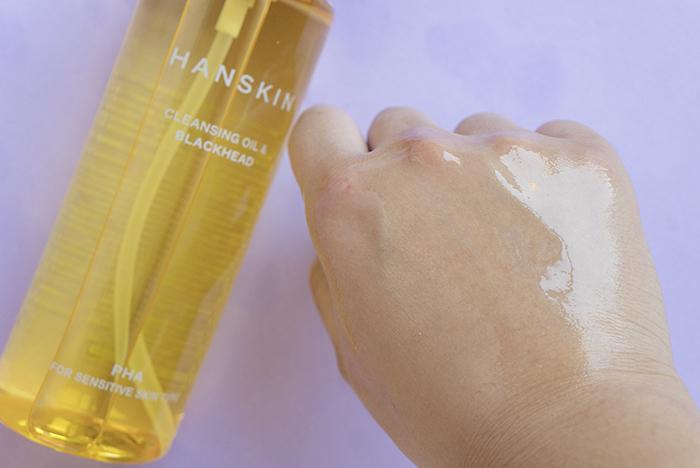 hanskin cleansing oil