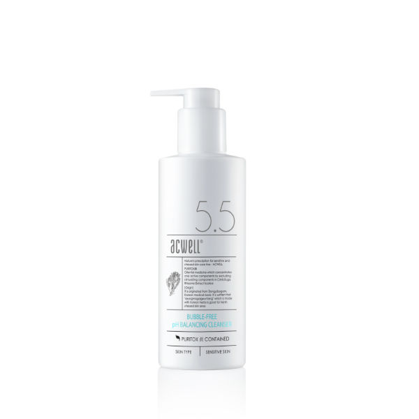 acwell bubble free cleanser