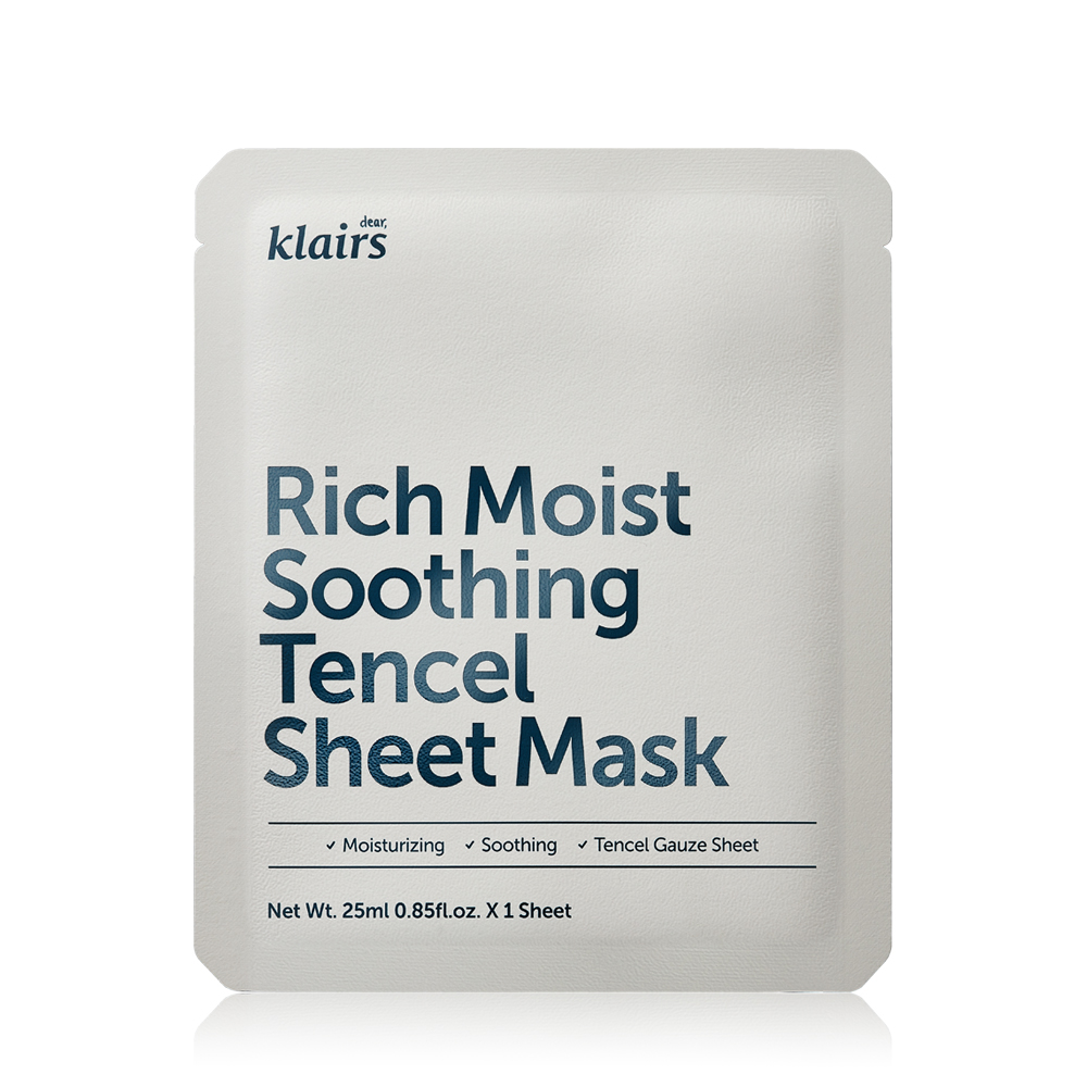 Klairs Moist Soothing Tencel Sheet Mask