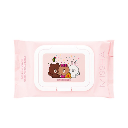 missha-line-cleansing-water-tissue-sts
