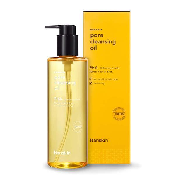 Hanskin pore cleansing oil pha
