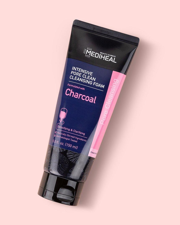 Mediheal-Intensive-Pore-Clean-Cleansing-Foam-_Charcoal-Klog