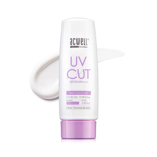 UV Cut SPF 50+PA++++ Mild Sun Fluid