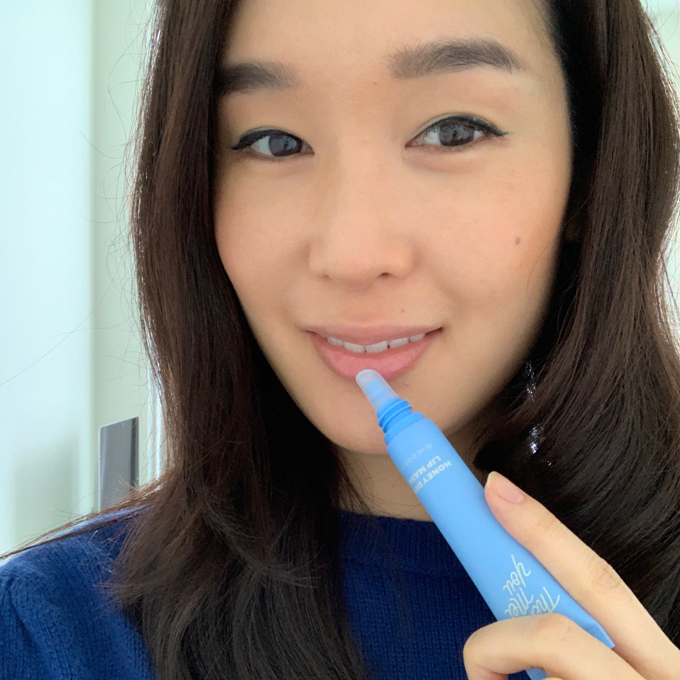 Charlotte Cho with Then I Met You Honey Dew Lip Mask
