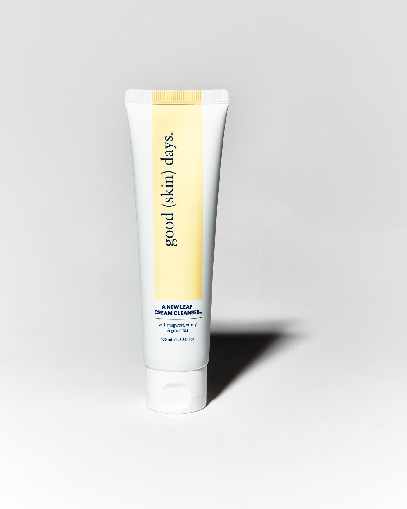 Good-Skin-Days-A-New-Leaf-Cream-Cleanser