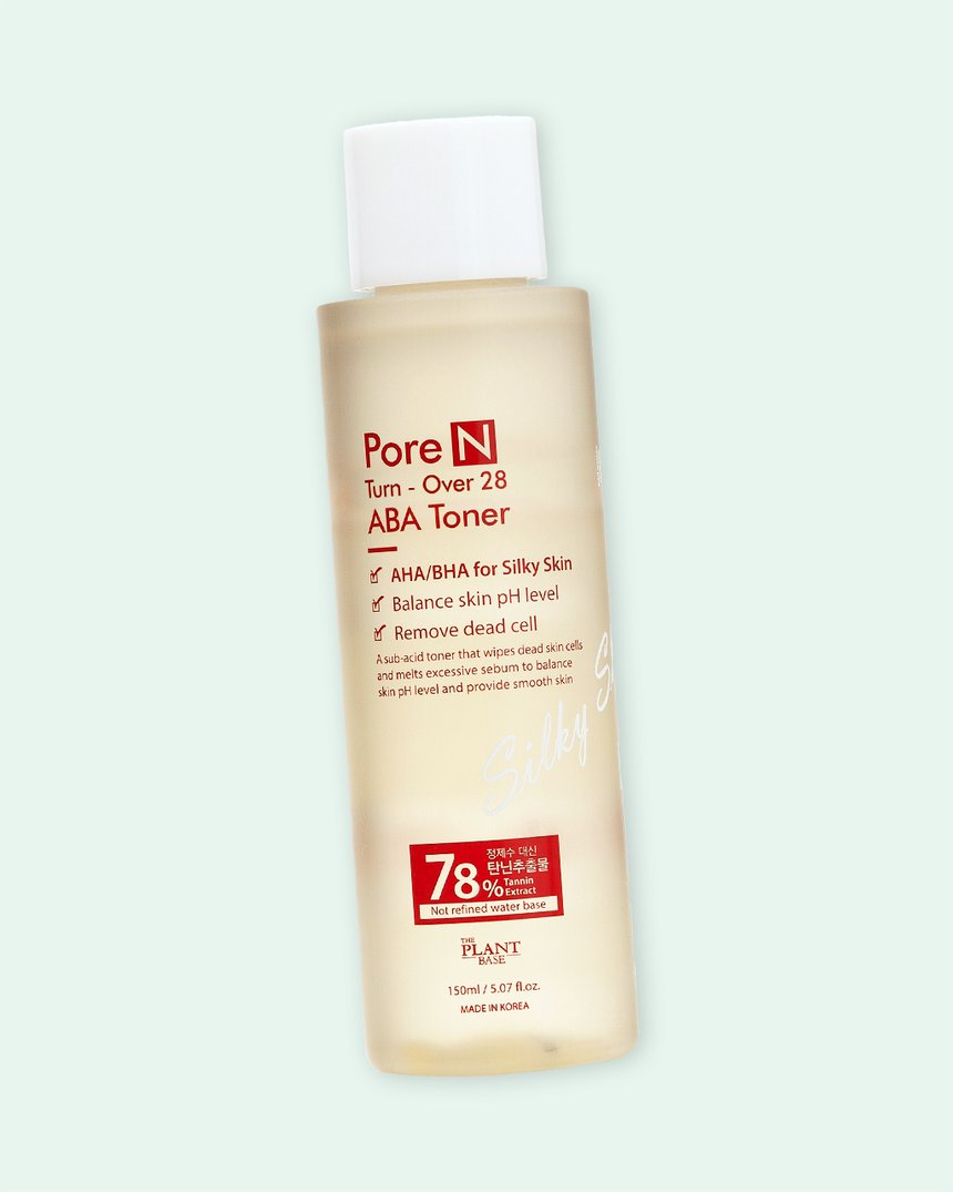 The Plant Base Pore N Turn-Over 28 ABA Toner