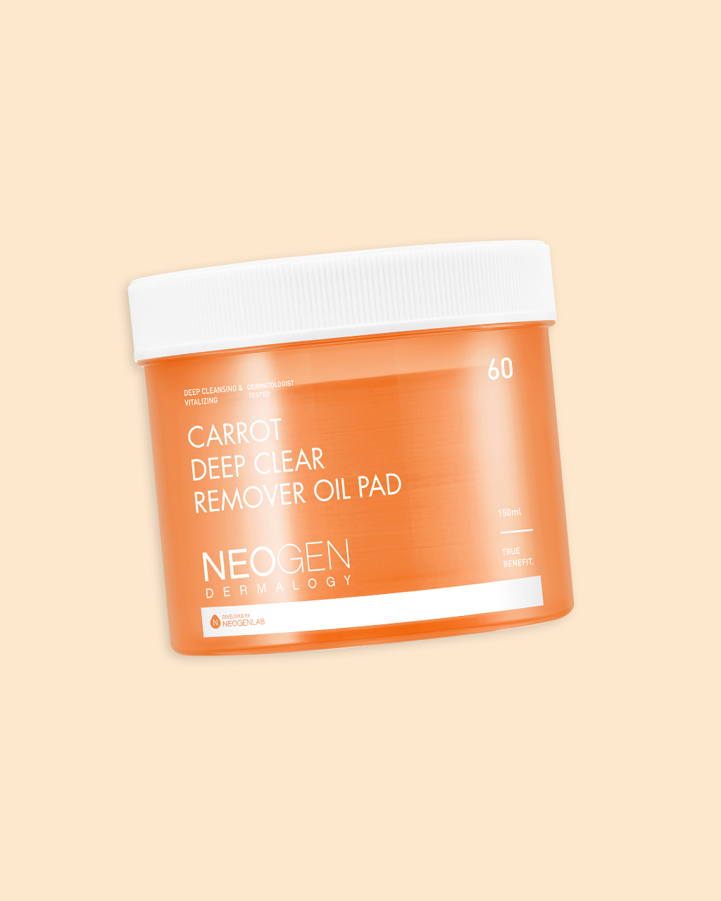 Neogen Carrot Deep Clear Remover Oil Pad