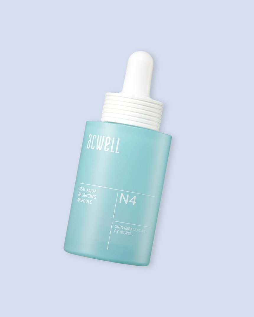 Acwell Real Aqua Balancing Ampoule Spring Skin Care Routine
