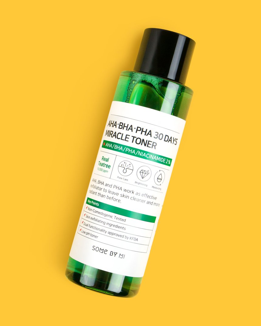 Spring Skin Trends Some By Mi AHA-BHA-PHA 30Days Miracle Toner