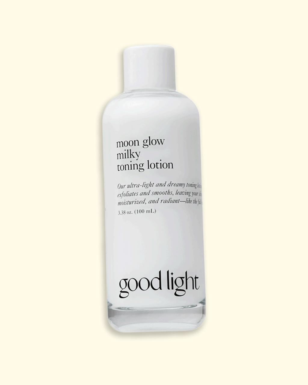 goodlight moon glow milky toning lotion