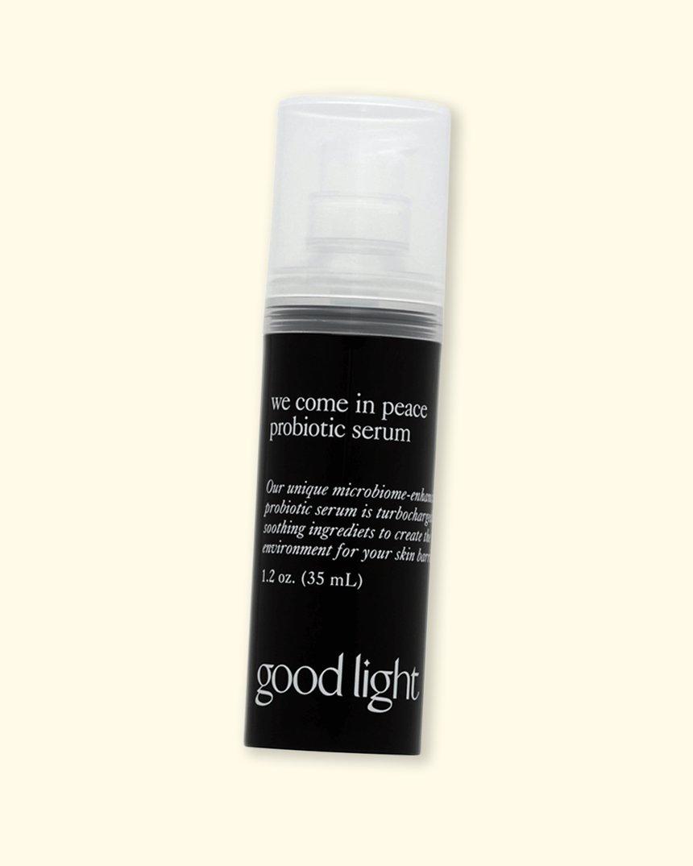 good light We Come In Peace Probiotic Serum
