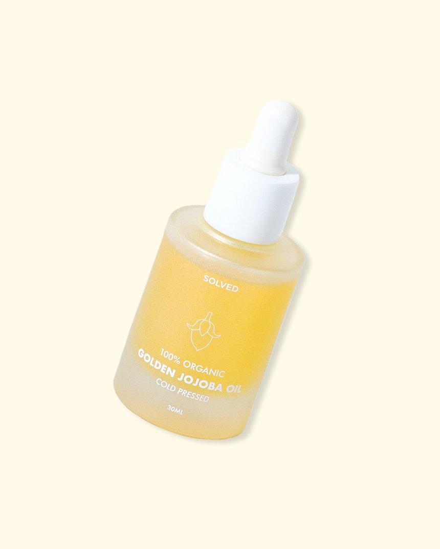 Skincare 100% Organic Golden Jojoba Oil