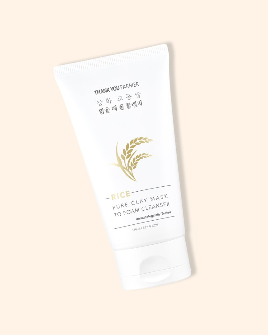 Thank-You-Farmer-Rice-Pure-Clay-Mask-to-Foam-Cleanser